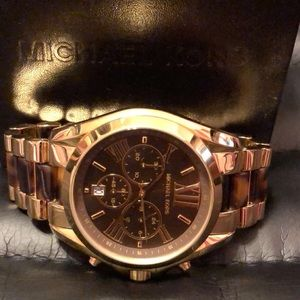 Michael Kors Two Toned Gold Watch